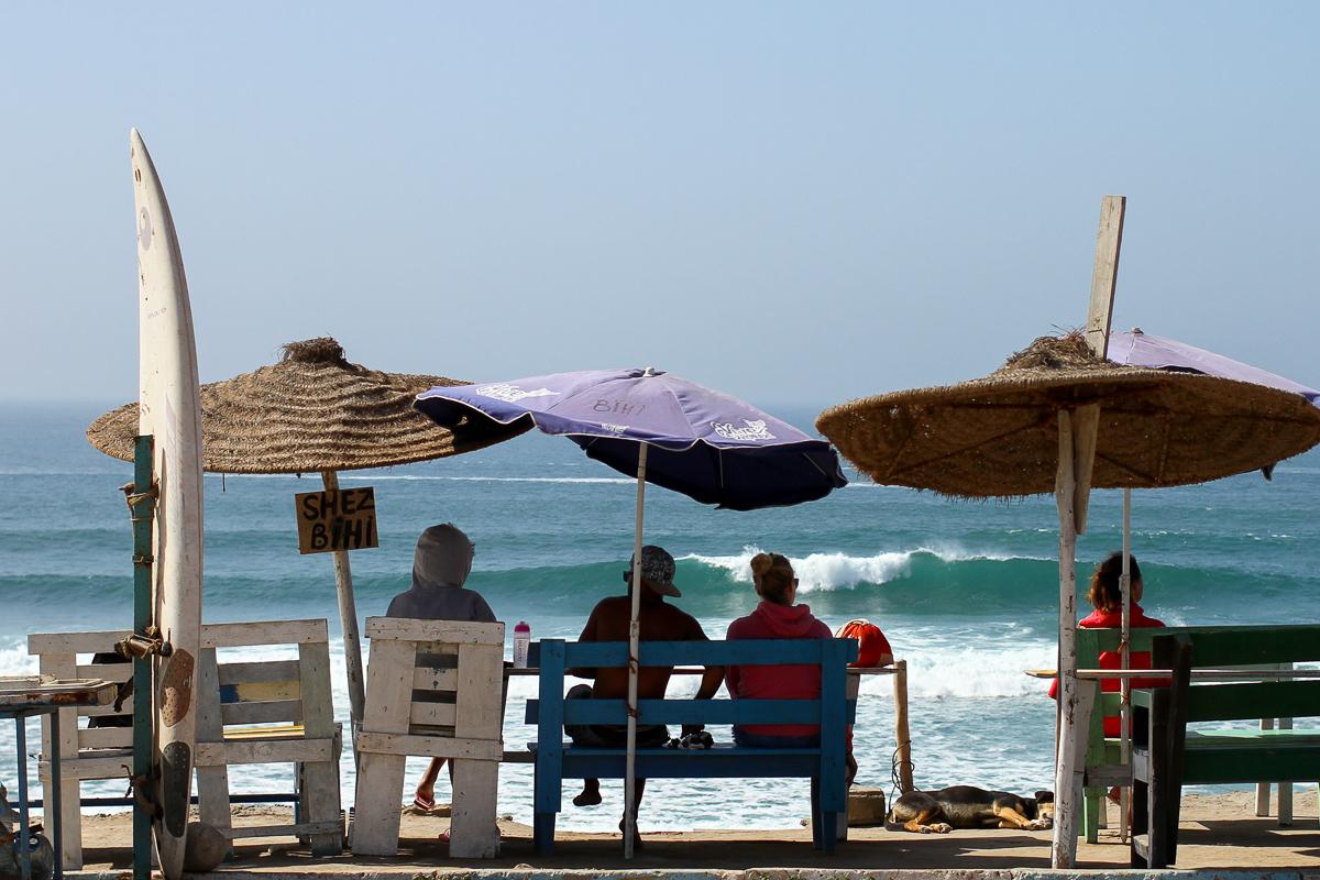 摩洛哥伊姆蘇安的衝浪者